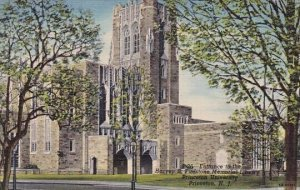 Entrance To The Harvey S Firestone Memorial Library Princeton University Prin...