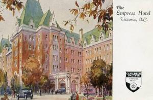 Canada - British Columbia, Victoria. Empress Hotel.