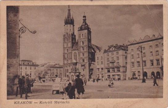 Poland Krakow Kosciot Mariacki