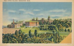 Holy Cross College - Worcester MA, Massachusetts - Linen