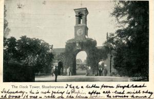 UK - England, Shoeburyness. The Clock Tower