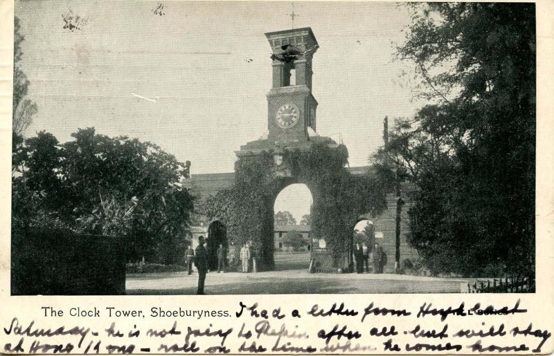 UK - England, Shoeburyness. The Clock Tower
