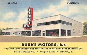 Burke Motors Inc Chicago, IL, USA Auto Dealership Advertising Unused