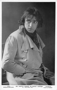 The Only Way Mr. Martin Harvey as Sidney Carton, Edwardian Actor Overcoat