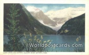 Lake Louise & Victoria Glacier Banff National Park Canada Unused