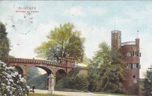 Netherlands Gelderland Nijmegen Belvedere en Viaduct 1906