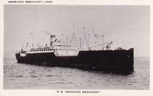 S.S. American Merchant - Merchant Lines, 1950-1960s