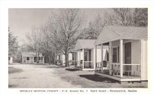Maine New Brunswick , Midway Motor Court