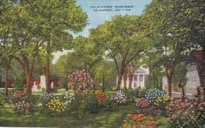 Georgia Savannah Oglethorpe Monument