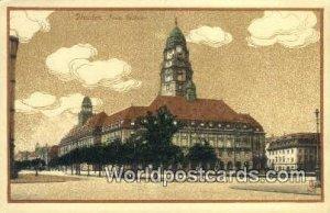 Neues Rathaus Dresden Germany Unused