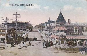 Grand Avenue Old Orchard Maine 1914