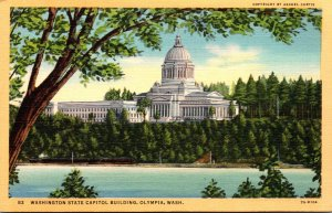 Washimgton Olympia The State Capitol Building Curteich