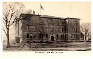 Connecticut  New Britain ,   High School