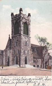Rhode Island Pawtucket Saint Pauls Church 1906