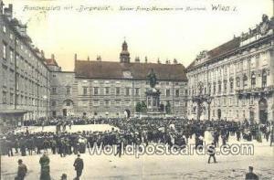 Austria Wien - Vienna Kaiser Franz Monument von Marchesi