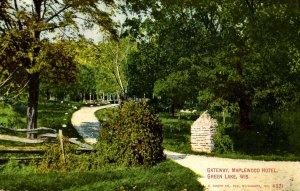 WI - Green Lake. Maplewood Hotel, Gateway