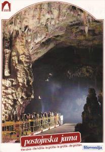 Cave , postojinska jama , Slovenija , PU-1996