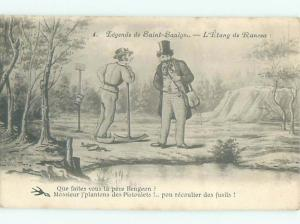 1905 SCENE IN SAINT-SAULGE - NIEVRE FRANCE AC3657