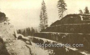 Repro Image Fort Point Cut, PRR Trains, Railroads Postcard Post Card Old Vint...