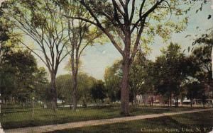 New York Utica Chancellor Square Park 1912