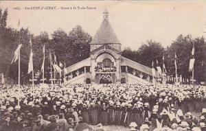 Ste-ANNE-d'AURAY, Messe a la Scala-Sancta, Morbihan, France, PU-1927