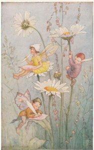 The Pixie Post , 1940-50s ; Artist Margaret W. Tarrant
