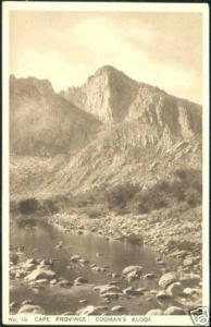 south africa, CAPE Province, Cogman's Kloof (1930s)