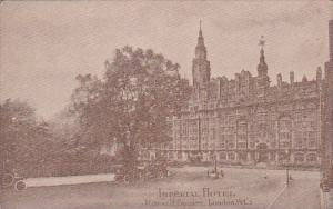 England London Imperial Hotel Russell Square 1918