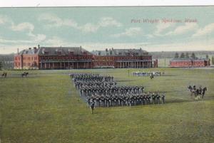 Washington Spokane Fort Wright Parade Grounds