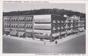Arkansas Hot Springs Hotel Goddard Central and Quachita Avenue 1951