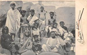 Yemen Aden Group of Somalis, Native People, Children Enfants