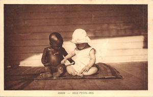 BF2566 gabon child enfant  deux petits amis africa