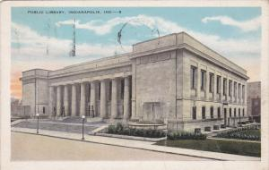Public Library, INDIANAPOLIS, Indiana, PU-1930