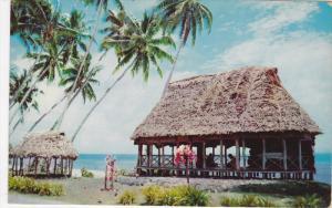 Samoan Houses, SAMOA, 40-60´s