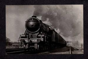 UK LNER Railroad Train London and North Eastern Railway Kings Cross Postcard