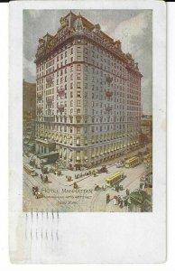 NYC HOTEL MANHATTAN, MADISON AVE & 42ND ST. NEW YORK CITY