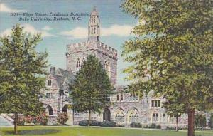 North Carolina Durham Kilgo House Freshman Dormitory Duke University