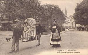 France - Aix Les Bains Place de l'Établissement Thermal 02.12