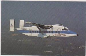 Sunbird Airlines Piedmont Commuter N332SB Prop-Jet in Flight