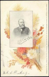 BOER WAR, Boer General Piet Cronjé (1905) Art Nouveau