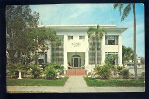 St Petersburg, Florida/FL Postcard, Gower Apartments, 1960's?