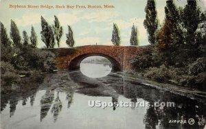 Boylston Street Bridge - Boston, Massachusetts MA
