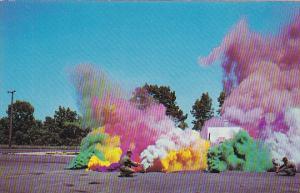 New York Geneva Colored Smoke Demonstration Sampson Air Force Base