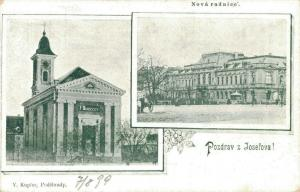 Czech Republic Pozdrav z Josefova 1899 02.36