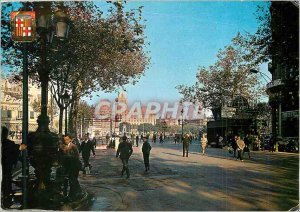 Postcard Modern Barcelona Tipica Fountaine of canalefas