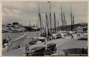 Handelskade, Punda, Curacao, Netherlands West Indies, Postcard