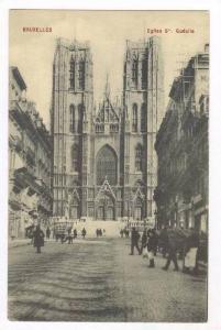 Eglise Ste. Gudulle, Bruxelles, Belgium, 1900-10s