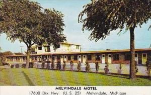 Michigan Melvindale Melvindale Motel