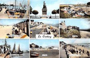 France Le Crotoy Estacade et le Port, Digue, Plage, Bateaux 1964