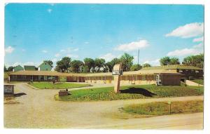Ever-Rest Motel Best Western Chillicothe MO Vintage Postcard 1958